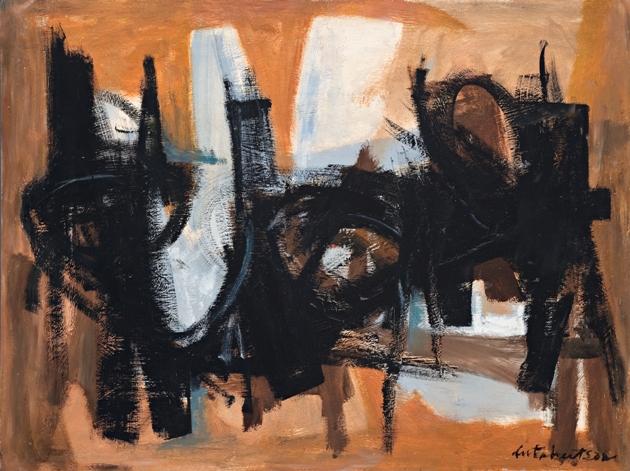 Untitled, 1960, Oil on board, 92x122cm