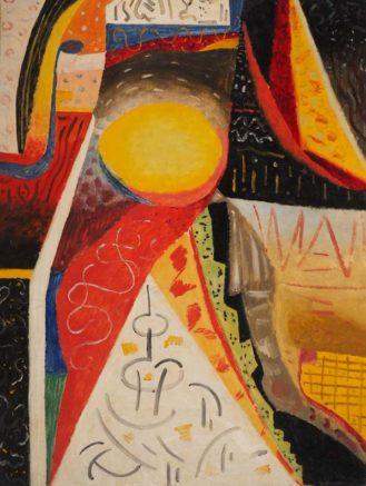 Percy Watson, Festive, 1955, oil on board, 120x89cm SOLD