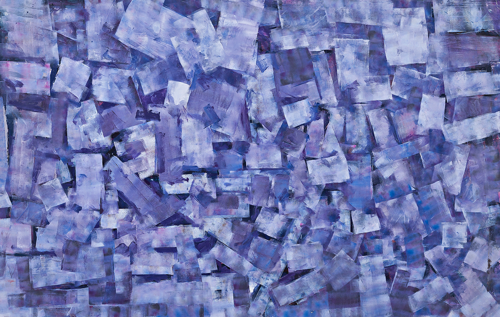 Roger Kemp. No. 127, acrylic on paper, 151x240cm, price on enquiry