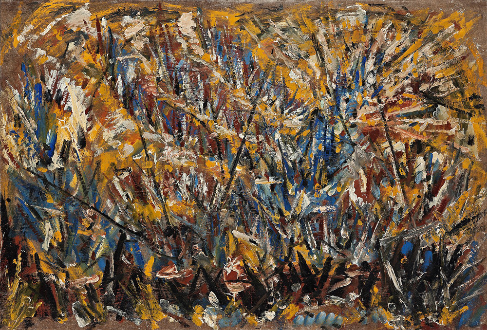 1930's, Oil on canvas, 54x79cm