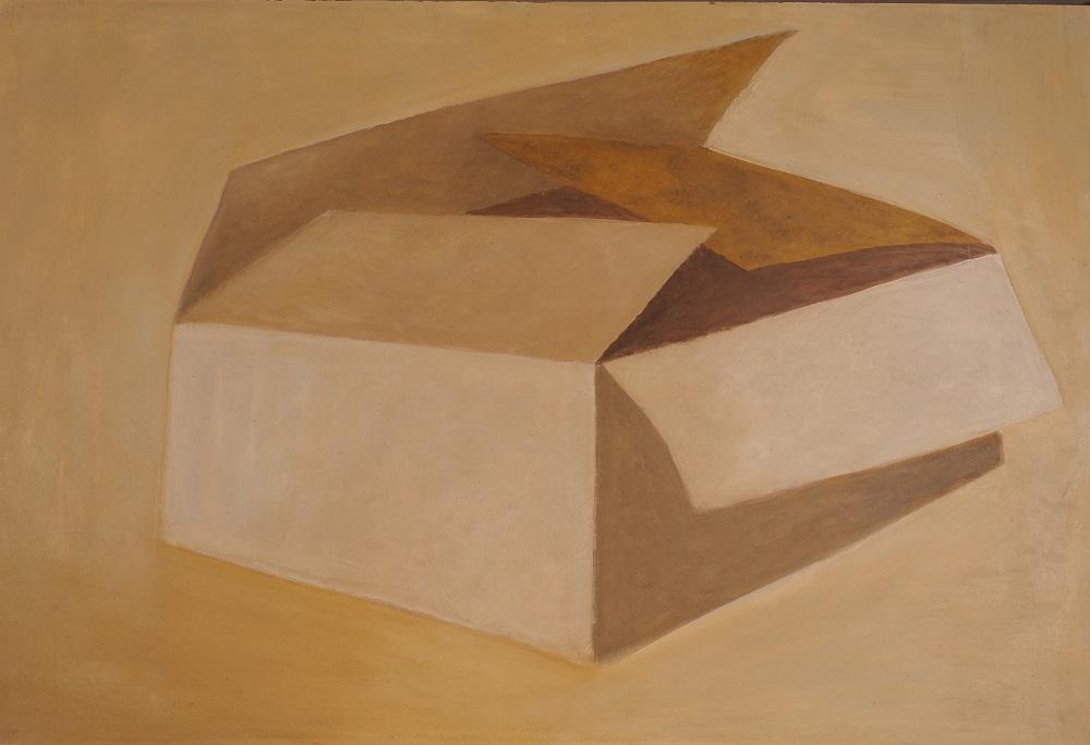 Dorothy Braund, Carton, 1974, oil on board, 60 x 90cm $9900