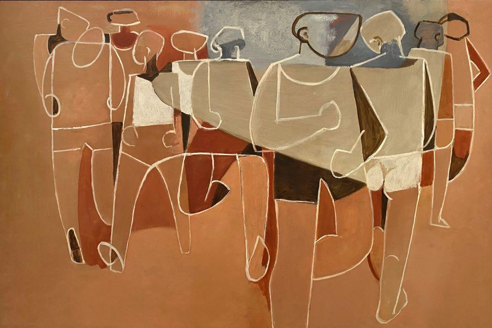 Dorothy Braund, No2. Beginning, 1996, oil on board, 61 x 91 cm $9900