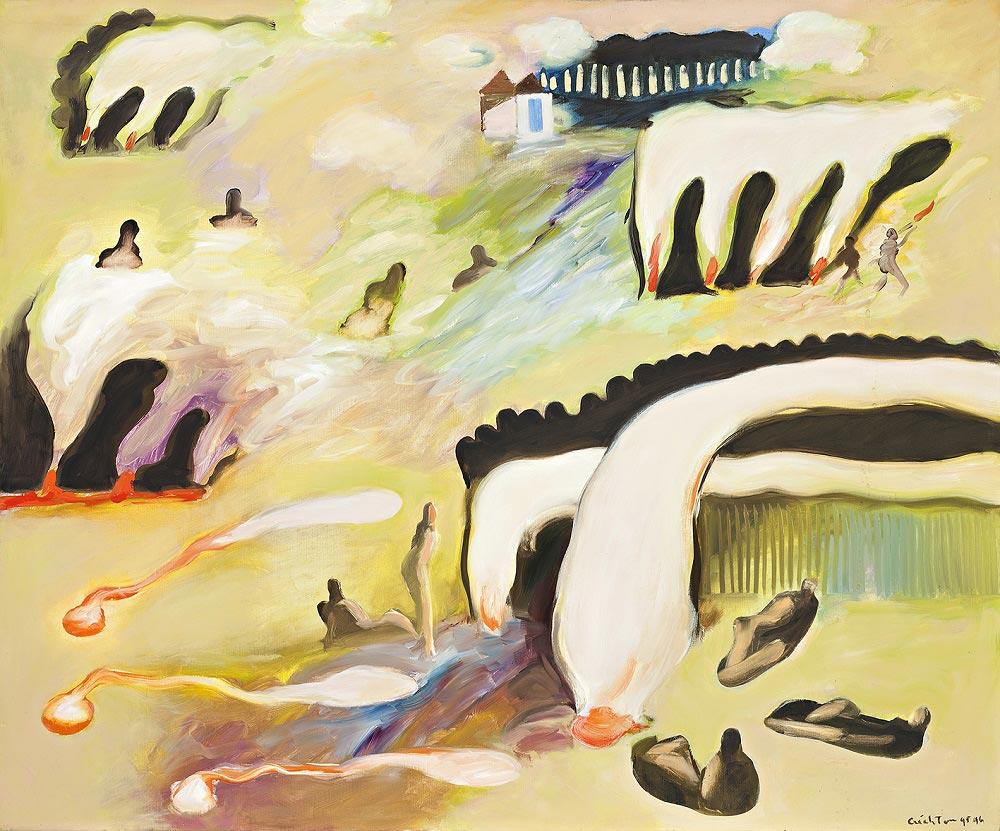 Arnhem Land Journey 3, 1995-6, oil on canvas, 76 x 91cm