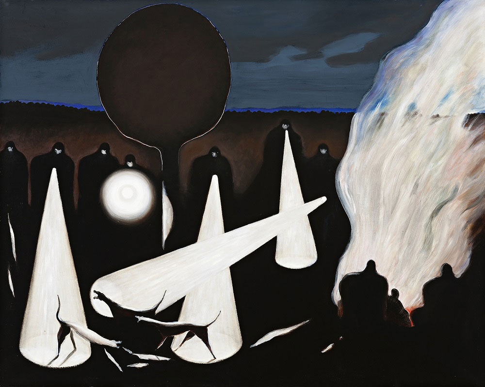Night Excursion, 1996-98, oil on canvas, 122 x 153cm  SOLD