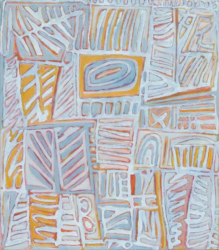 Wayne Eager, Plantation (state II) 2015, oil on linen 122 x 107cm $6000