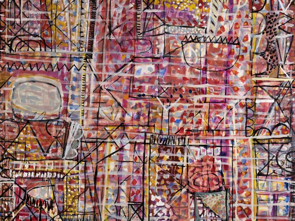 Wayne Eager, Wildflower, oil on linen, 149 x 200cm SOLD