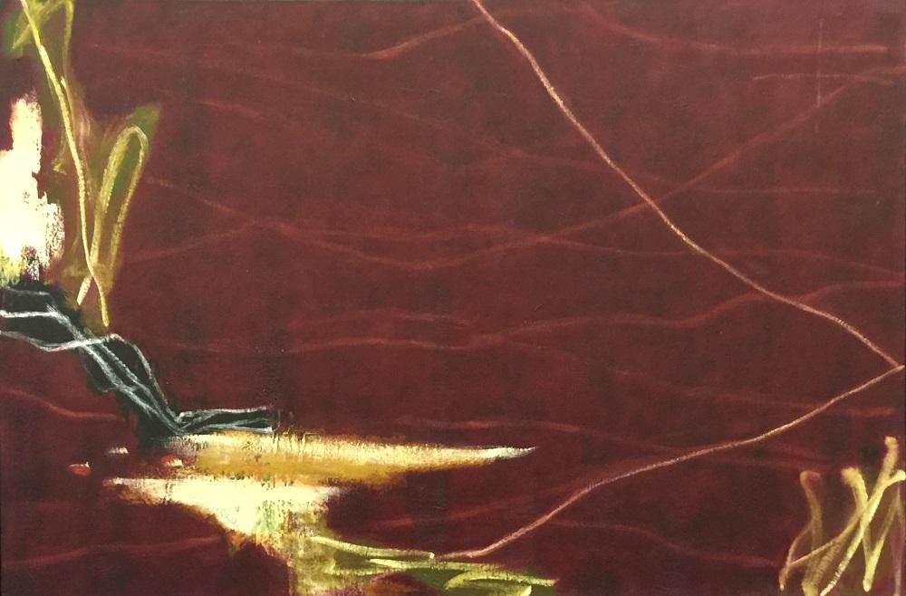 Ian Parry, After Vlamingk II, 2017, oil on linen, 92 x 137cm $12,500