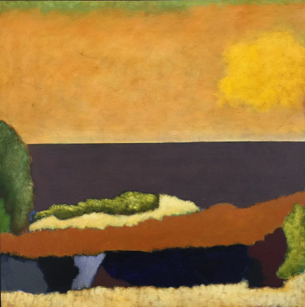 Ian Parry, Piero's Light, 2018, oil on linen, 107 x 107cm $12500