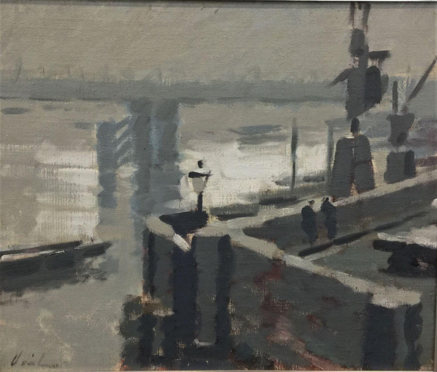 Hayward Veal, oil on canvas on board, 50 x 60cm $4000