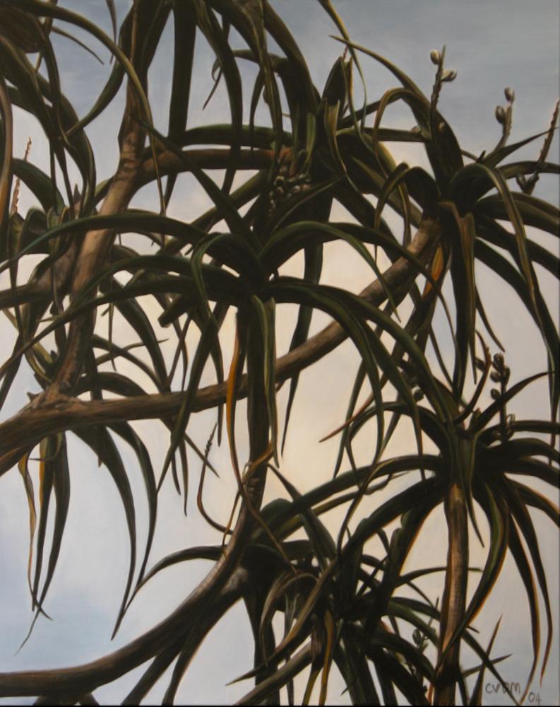 Catherine Van der Meer, Thomas Island, oil on linen, 153 x 122cm $7000