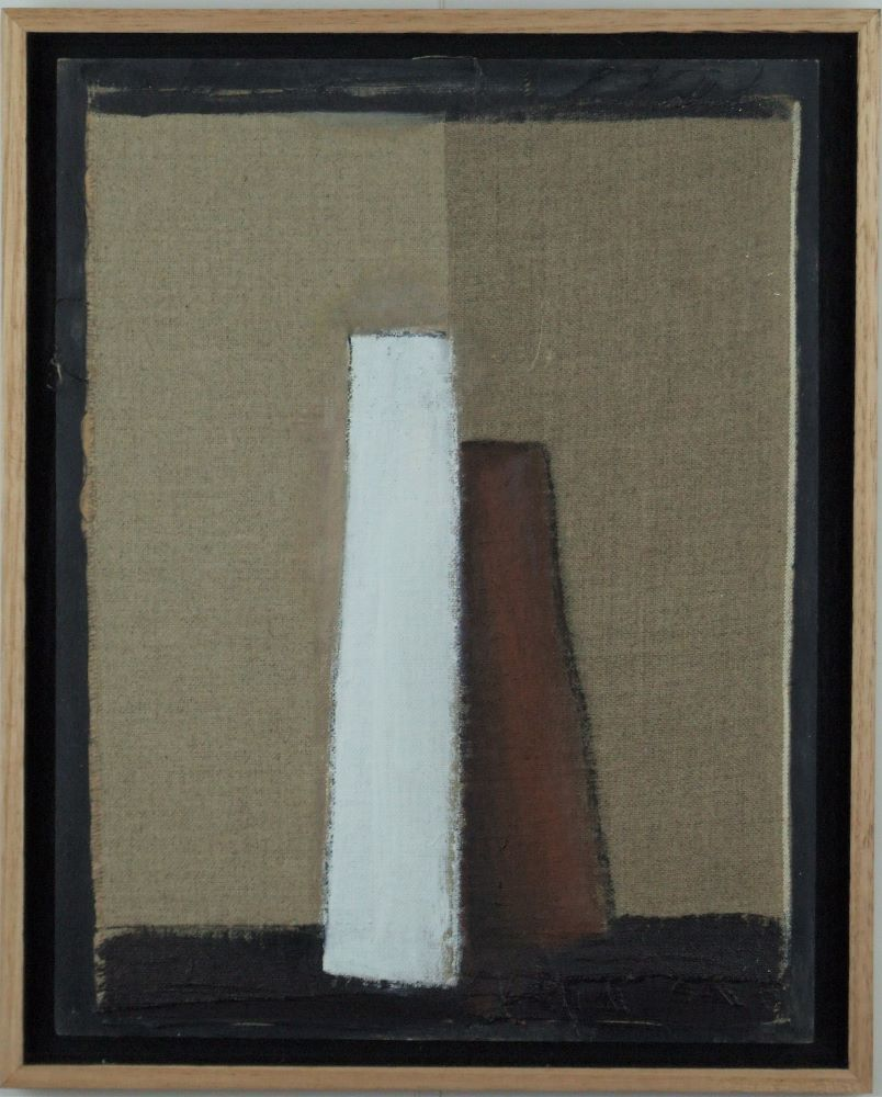 Frank Burgers, Raw State, 2020 oil on linen, 30x23cm
