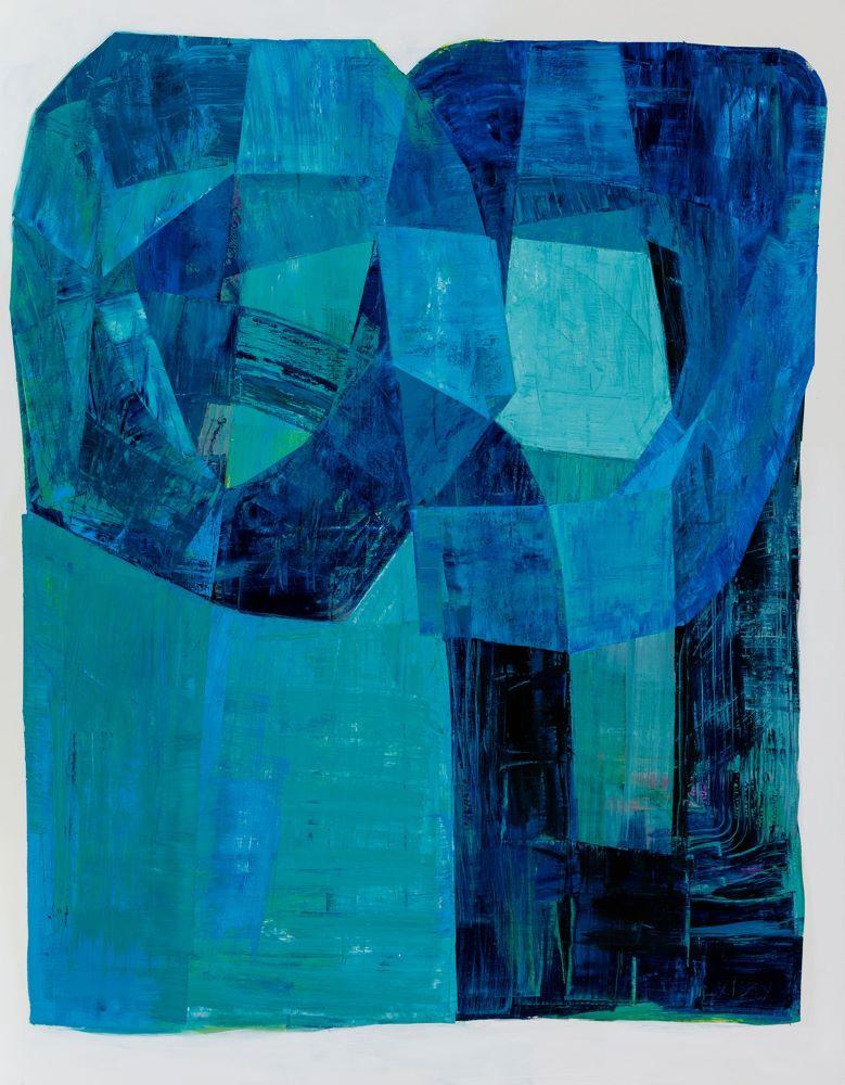 Kate Elsey, Moonah Rhapsody, 2020, oil on linen, 182 x 142cm, $14,500